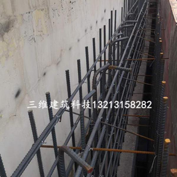 嵩县中医院墙和顶板加大截面加固