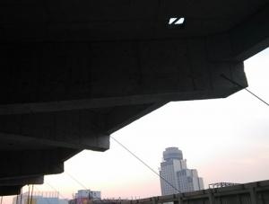 洛阳亿和世纪王城冰场屋盖预应力工程预应力大悬挑结构