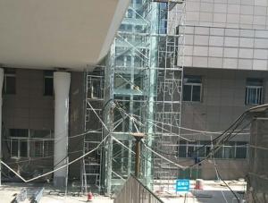 平顶山火车站钢结构电梯井道项目