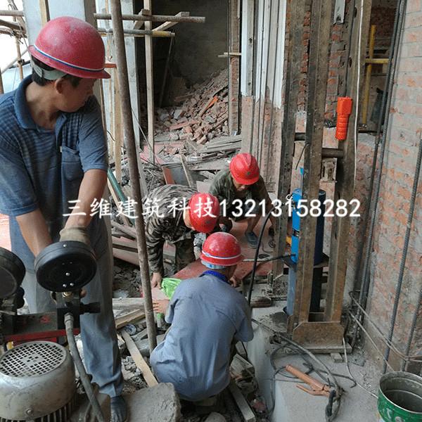 漯河三中基础静压桩加固工程