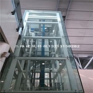 高铁站观光电梯井道