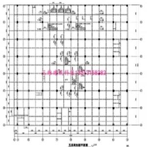 安徽泗县同辉广场结构梁加固设计
