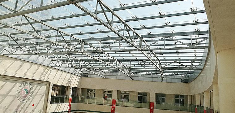 周口永兴医院钢结构屋架